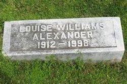 Martha Louise <i>Williams</i> Alexander
