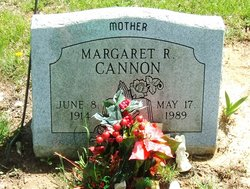 Margaret R Cannon