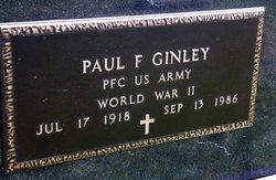 Paul F. Ginley