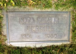 Sara Stevens <i>Newton</i> Churchill