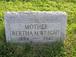Bertha M Wright