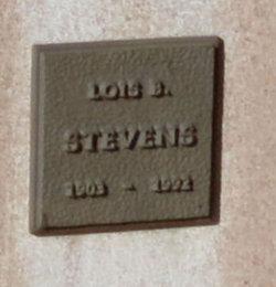 Lois B Stevens