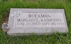 Margaret Katherine Buckman