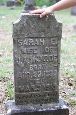 Sarah Ellen Sallie <i>Foster</i> Boatman Monroe