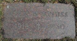 Fern Madeline <i>Ward</i> Stauss