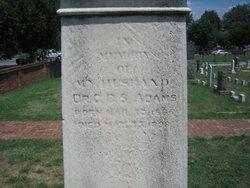 Dr Clarence B S Adams