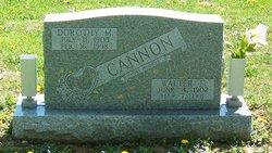 Walter F Cannon