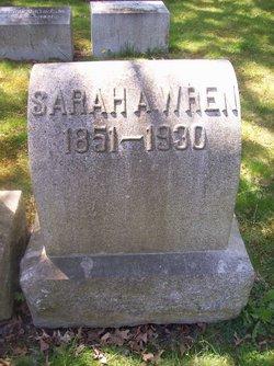Sarah Ann <i>Beddall</i> Wren