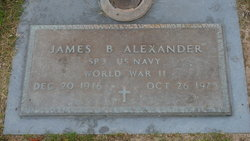 James Brazington Alexander