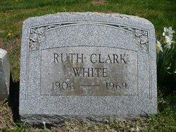Ruth E <i>Clark</i> White