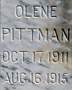 Olene Pittman
