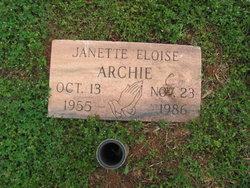 Janette Eloise Archie