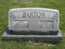 Alice <i>Galloway</i> Barton