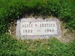Alice V Justice