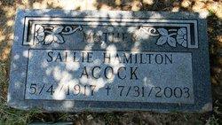 Sallie <i>Hamilton</i> Acock