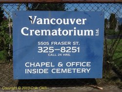Vancouver Crematorium