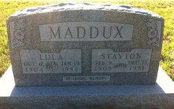 Clyde Stayton Maddux, Sr