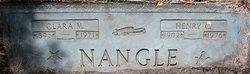 Clara M <i>Bucklin</i> Nangle