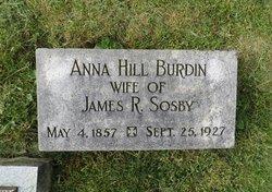 Anna Eliza <i>Hill</i> Sosby