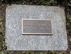 Henry Barker Coleman, Jr