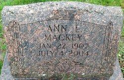 Ann L Mackey