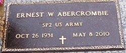 Ernest W Abersrombie