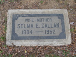 Selma Elizabeth <i>Salveson</i> Callan