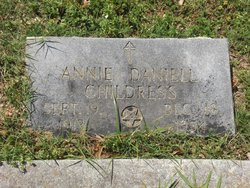 Annie Mae <i>Daniell</i> Childress
