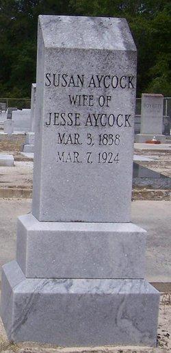 Martha Susan <i>Aycock</i> Aycock