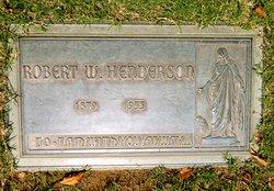 Robert William Henderson