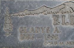 Gladys Adeline <i>Braaten</i> Ellis