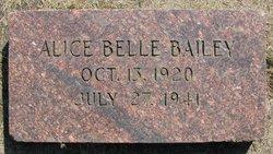 Alice Belle Bailey