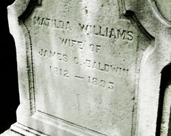 Matilda <i>Williams</i> Baldwin