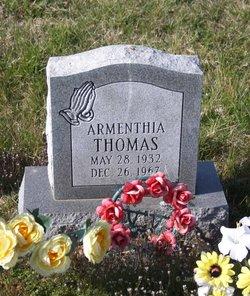 Armenthia Thomas