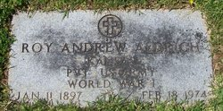 Pvt Roy Andrew Aldrich