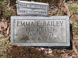 Emma E <i>Cutright</i> Bailey