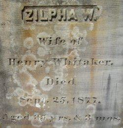 Zilpha <i>Backus</i> Whitaker