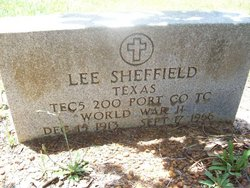 Henry Lee Sheffield