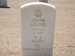 Edith Louise <i>McAtee</i> Allen