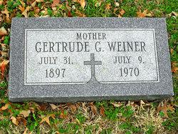 Gertrude G. Weiner