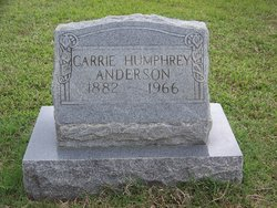 Carrie <i>Humphrey</i> Anderson