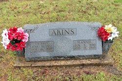 Hessie Annie <i>Milam</i> Akins