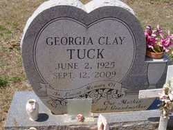 Georgia Mae <i>Clay</i> Tuck