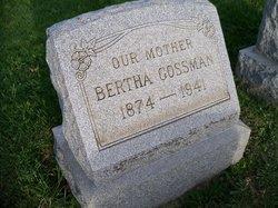 Bertha Gossman