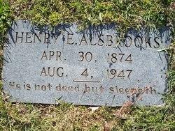 Henry Edward Alsbrooks, Sr