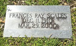 Frances <i>Ray</i> Scales