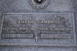 Mrs Wanda Ailene <i>Fitzgerald</i> Cambra