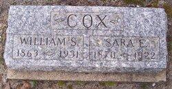 Sara E <i>Hughes</i> Cox
