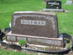 Emma E <i>Richter</i> Dickman