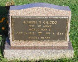 PFC Joseph G Chicko